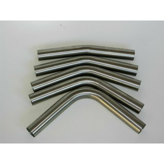 Edelstahl universal Rohrbogen lang Ø60,3mm Rohr 15° - 90° ungeweitet