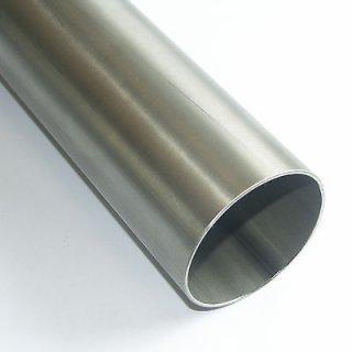 """Edelstahl Rundrohr V2A 1.4301 88,9 x 2,0mm 3,5"""" Leitungsrohr"""