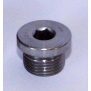 Edelstahl A2 Verschlußschraube DIN908 Lambdasonde M18x1,5